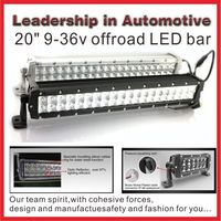 Best price 20inch 120W cree off road led light bar, led car roof rack light bar