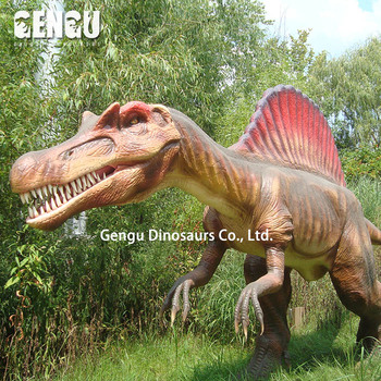 Lifesize waterproof animatronic dinosaur for themepark