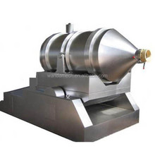 2 dimension dry food powder mixer /blender machine stainless steel