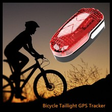 Newest professional bicycle gps tracker gps bike tracker with sms remote control hidden gps navigator taillight function