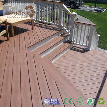 Outdoor Waterproof WPC Wood Composite Rubber Flooring