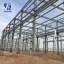 Low Cost Prefab Light Steel Structure Factory Building Construction