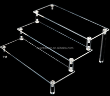 clear acrylic cake stand showcase multilevel display cupcake stand