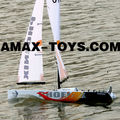 es-1180901 sailing boat china Phoenix RC Wind Power Racing Sailing Boat
