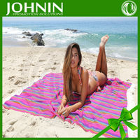 China Manufacturer super soft fashionable holiday beach picnic blanket