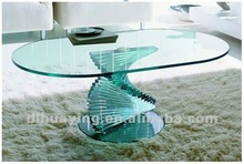 2012 Hot-sale Bronze Tempered Glass Table Top
