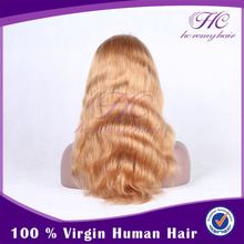 Wholesale best selling honey blonde lace front wigs