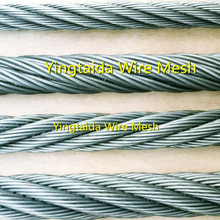 professional pvc coated galvanized steel wire rope manufacturer