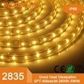 high lumen 220V 2835 100m/roll led strip light