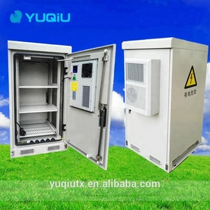 Customized outdoor telecom cabinet with battery rack