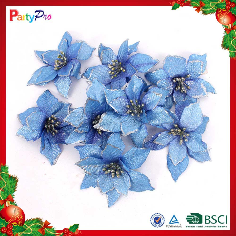 Partypro 2015 Wholesale Christmas Indoor Decorations Colorful Plastic Church Flower Decoration