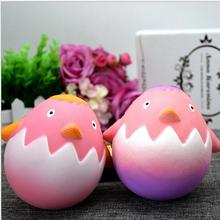 kawaii slow rising scented squishy toysWholesale cute educational animal figure toy penguin egg slow rising squishy