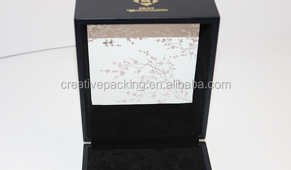 Single Perfume Bottle Display Wooden Packaging Box