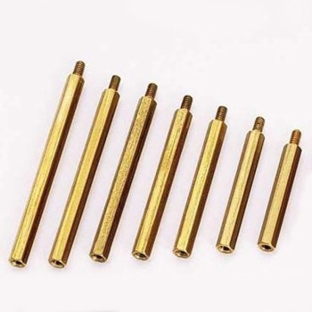 Brass Standoffs (Hex & Female to Male),Female to male standoff