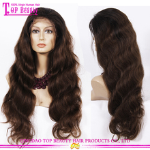 New arrival 8A grade wholesale elastic band brazilian hair glueless full lace wig natural hairline 200% density full lace wig