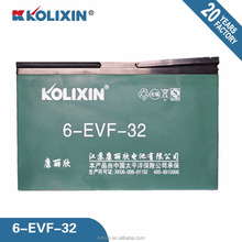 6-EVF-32 kolixindeep cycle Silicone gel battery 12v32ah for electric bicycles and electric medical devices