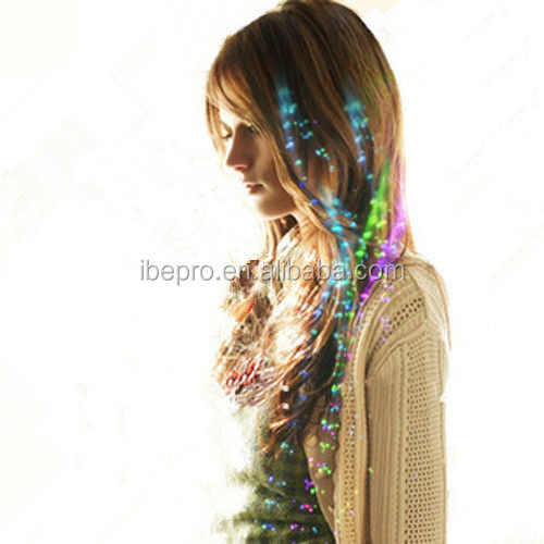 Light Up Flashing Hair Braid LED Extension