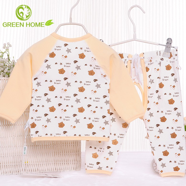 2017 0 3 years old Animals fruits a set sweet babyromper clothes GB012