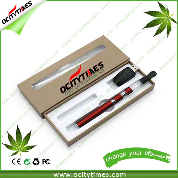 Hot Sale 0.6ml DEX vape starter kit Professional Design cbd cartridge bud-ds80 with gift box package