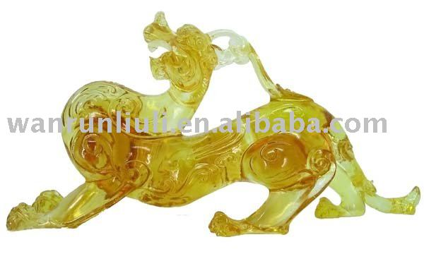 ''pixiu''-the glass art chinese dragon--BS007