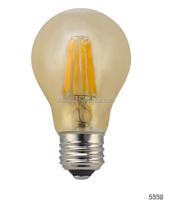 2015 smart lighting 360 degree led light bulbs E27 edison led lamp led filament lamp patriot lighting