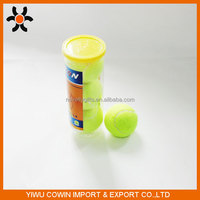 High Quality Yellow High Resilience Tennis Ball from chinse supplier