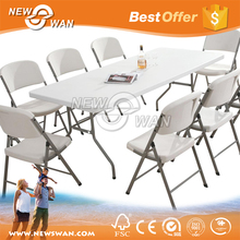 HDPE Folding Table / Square Plastic Folding Table