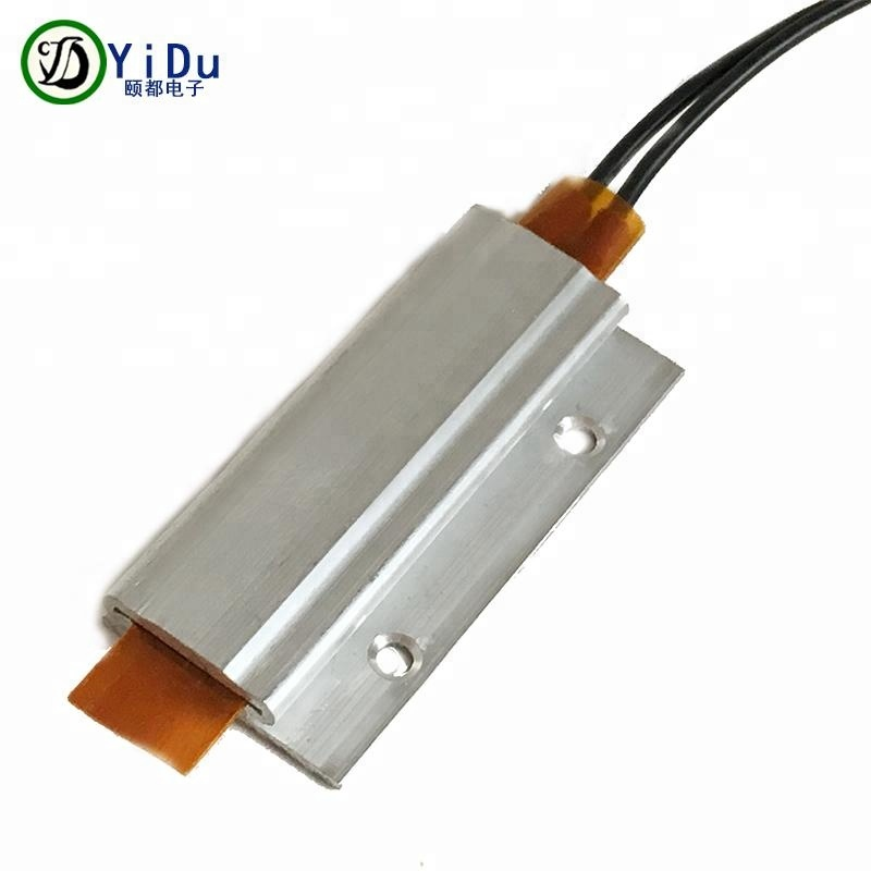 PTC heating element 65C AC/DC 220 PTC Heater for crimper with Mounting <strong>hole</strong> 60*28mm