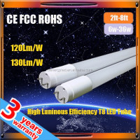 high Luminous efficiency 18W 1200mm t8 led tube