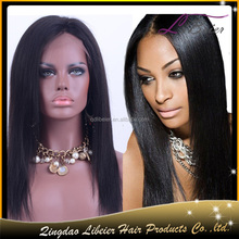 Li Beier Hot Beauty Wig Soft Sense Of Touch Durable Hair Material Yaki Straight Full Lace Wig