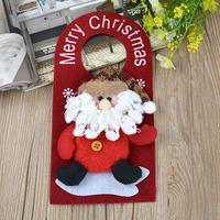 Cute Santa Claus Snowman Pattern Christmas Hanging Ornament