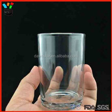 Transparent drinking water cup types of tempered glassware wholesale