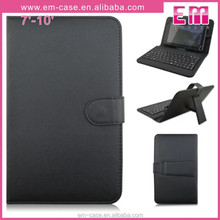 bluetooth keyboard PU leather case with high quality with bluetooth for ipad mini
