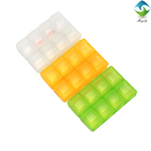 Wholesale weekly small pocket plastic pill box
