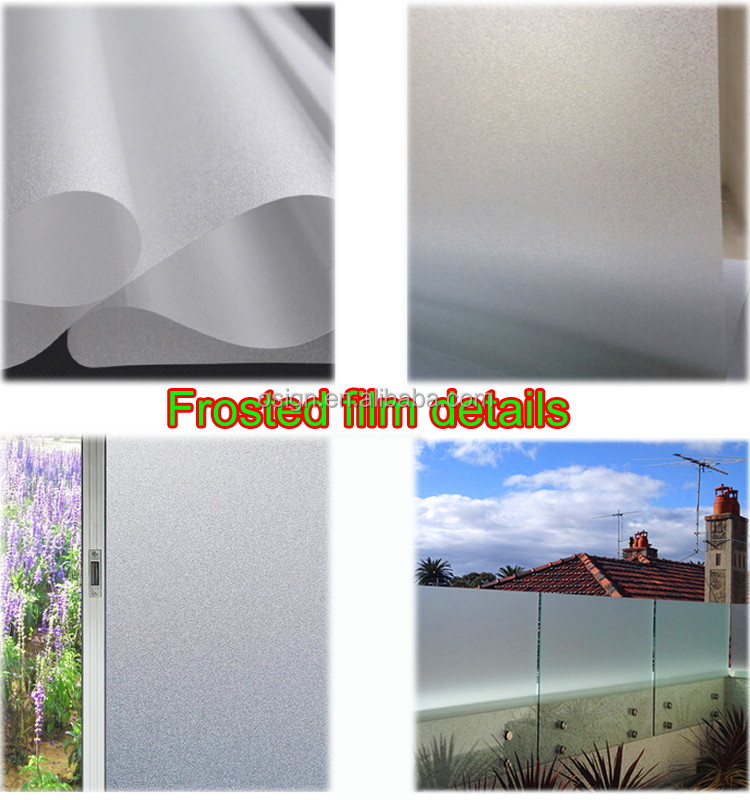 Glass window frosted frosting film