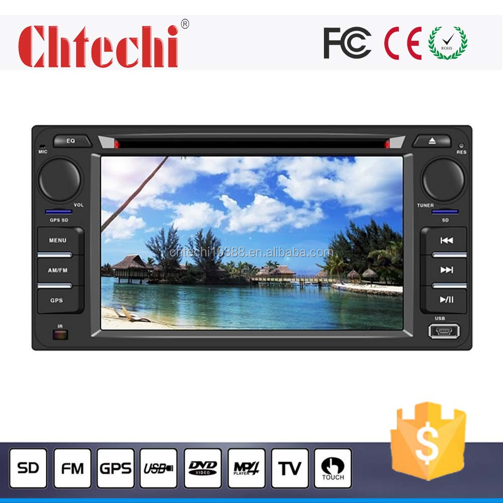 Car dvd player for Toyota universal 6.2inch with Android 4.4.4/Wince 6.0 system GPS Navigation/ TV/Bluetooth/AM/FM/Radio