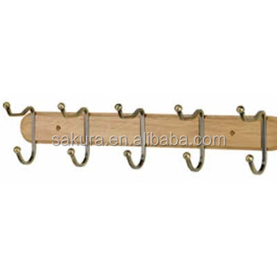 utility hanger hooks woodenhanging wall clothes hooks