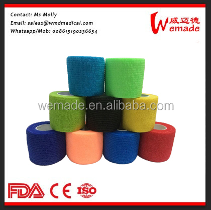 Hot-sale/ best offer Elastic Cohesive/ self-adhesive animal Printing Bandage