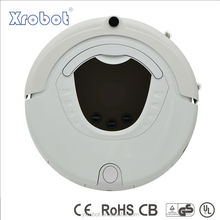 Wireless robot vacuum cleaner xr210 with LCD display