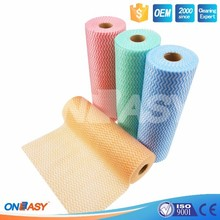 Textured Hygienic Lint Free Wiping Roll