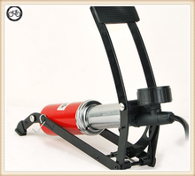 single cylinder foot pump with gauge