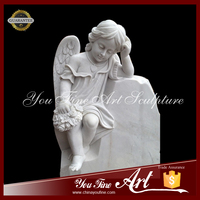 Marble Baby Angel Headstones Made in China
