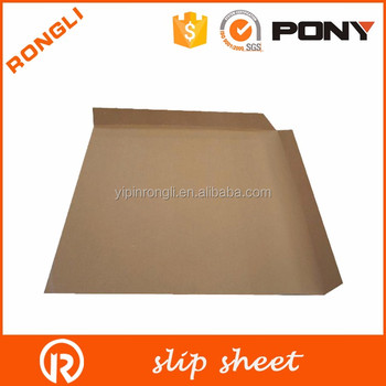 Easy to use strong paper pallet slip sheet for transportation