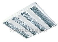 fluorescent light grid T5 Embeded Grille Lamp fixture