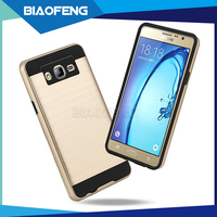 Foshan manufacturers looking for distributors accept to customized tpu pc phone back case combo cover for samsung galaxy on5 on7