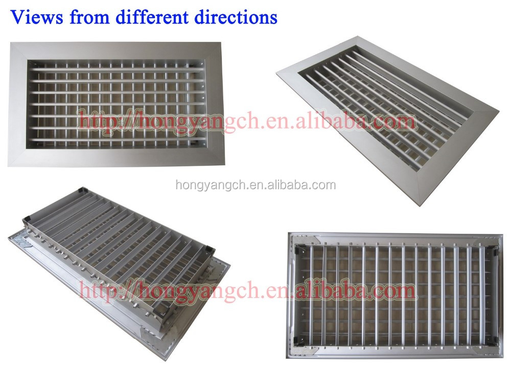 HVAC Double Deflection Air Grille Vent