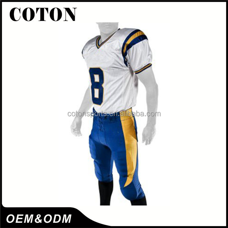 Factory Manufaturer Supply cheap american football training pants for goog quality