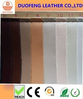 Nonwoven backing sheep skin pu synthetic leather manufacturer