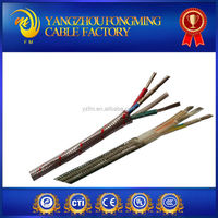 high temperature heating element equipment cable braided shield