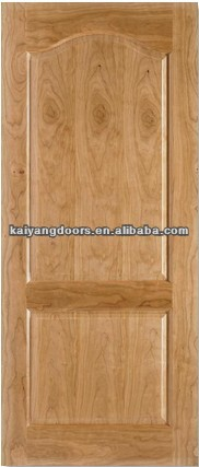 Interior engineered red <strong>oak</strong> veneer wood <strong>panel</strong> <strong>door</strong>